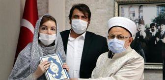 Müftü: Türk'le evlenen Rus Evgeniya İslamiyet'i seçti, 'Nur Bahar' adını aldı