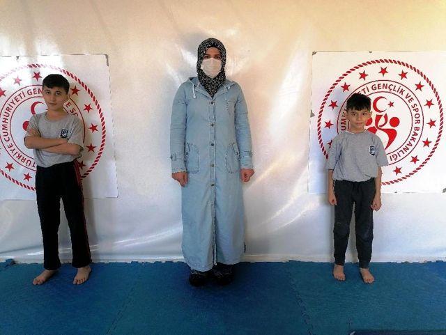 Yunusemreli Judocu Öztürk kardeşlerin hedefi milli takım
