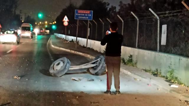 Bursa'yı ayağa kaldıran olay! Kardeşinden çaldığı kamyonla dehşet saçtı