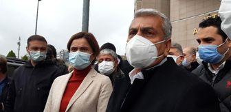 İstanbul: Eski CHP İstanbul İl Başkanı Cemal Canpolat ifade verdi