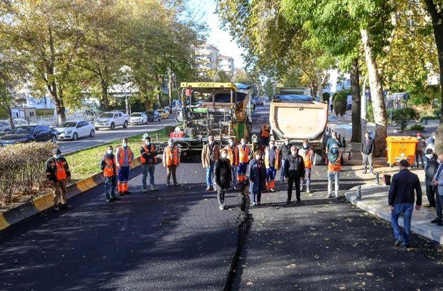 Fevzi Çakmak bulvarının 20 yıllık asfaltı yenileniyor