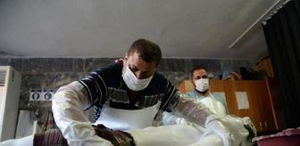 Dha: Son dakika haberi! Gassallar cenazeleri koronavirüs tedbirleri altında yıkıyor
