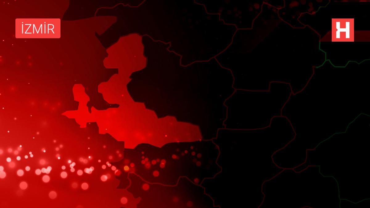 Son dakika haberleri | İZMİR'DE PLASTİK FABRİKASINDA YANGIN(1)
