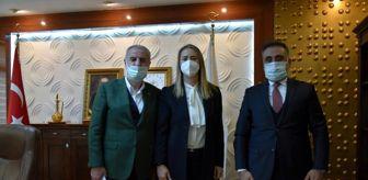 Mardin: Milletvekilleri, MAÜ Rektörü Özcoşar ile bir araya geldi