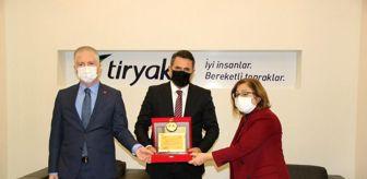 Gaziantep: Tiryaki AGRO'ya teşekkür plaketi