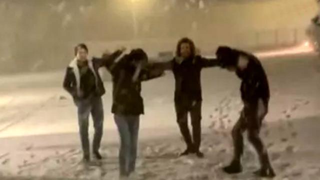 Trakya'da etkili olan kar yağışı İstanbul'un kapısına dayandı