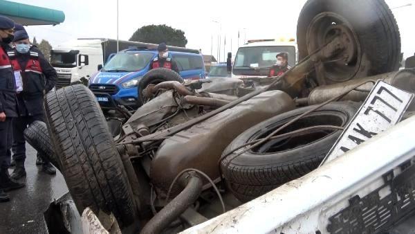 Yalova'da 6 aracın karıştığı zincirleme kaza: 1 ölü, 10 yaralı