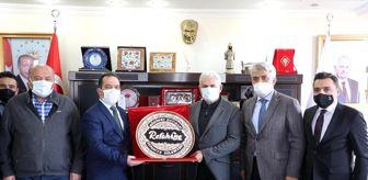 Karaman: Yıldırım, Refahiye Belediyesini ziyaret etti