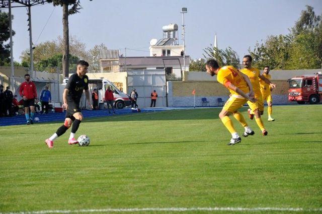 3. Lig: Osmaniyespor FK: 1 Çatalcaspor: 2