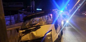 Ankara: Son dakika haberleri: Başkent'te trafik kazası: 2 yaralı