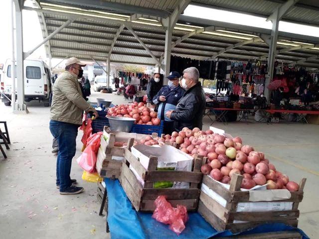 Hisarcık'ta kurulan pazarın günü değişti