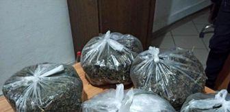 Sakarya: Jandarmadan kaçarken uyuşturucu dolu poşetleri dere yatağına attılar