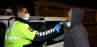 Tekirdağ: Kaldırıma çarpan sürücüye kısıtlama cezası