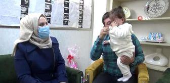 Diyarbakır: Mardinli çiftin 12 yıllık çocuk hasreti Diyarbakır'da son buldu