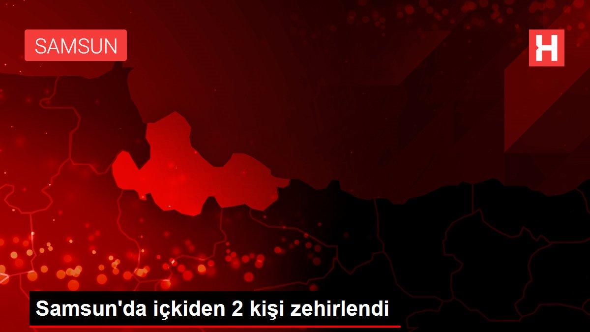 Samsun'da içkiden 2 kişi zehirlendi