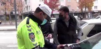 Bursa: Yaya öncelikli geçitlerde kurallara uymayan 41 sürücüye ceza