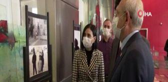 Chp Genel Başkanı: Son dakika haber | CHP Genel Başkanı Kılıçdaroğlu, Bedirhan Nazif Arı'nın fotoğraf sergisini gezdi
