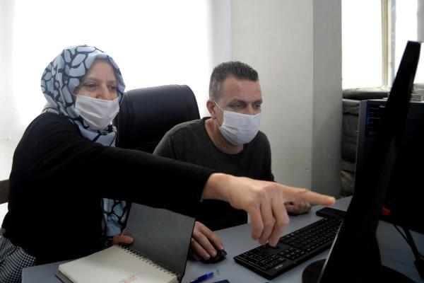Engelli kadın girişimci, eşofman ihraç ediyor