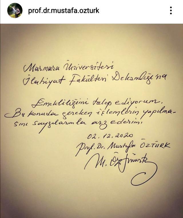 İlahiyatçı Prof. Dr. Mustafa Öztürk, Kur'an-ı Kerim ayetleri hakkındaki tepki çeken sözleri sonrası istifa etti
