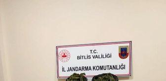 Bitlis: Bitlis'teki uyuşturucu operasyonlarında 4 şüpheli hakkında işlem yapıldı
