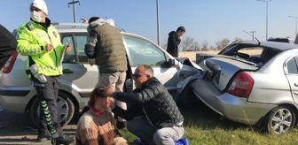 Tekirdağ: Son dakika haberi | Kazada yaralılara, yoldan geçen sağlıkçı müdahale etti