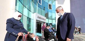 Gaziantep: Şahinbey'den engellilere tekerlekli sandalye