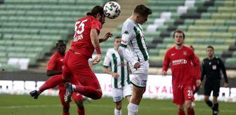 Çağatay Yılmaz: TFF 1. Lig: Bursaspor: 1 Ümraniyespor: 3