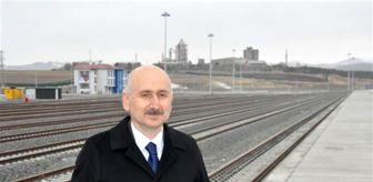 Sarıkamış: Bakan Karaismailoğlu Kars Lojistik Merkezi'nde incelemede bulundu