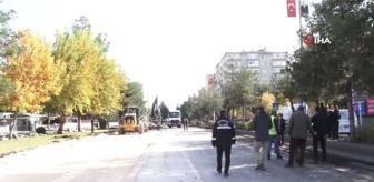 Diyarbakır: Diyarbakır'da hayat durdu ama hizmet durmadı