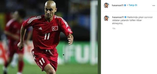 Hasan Şaş, Survivor'a mı gidiyor? Gündem yaratan iddiayı sosyal medyadan yanıtladı