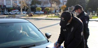 Kırklareli: Son dakika haberleri: Kırklareli'nde sokağa çıkma yasağı denetimler yapılıyor