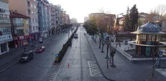 Kütahya: KÜTAHYA/YALOVA - Sokağa çıkma kısıtlamasına uyuluyor