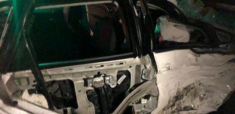 Tekirdağ: Tekirdağ'da kavşakta çarpışan araçlar hurdaya döndü