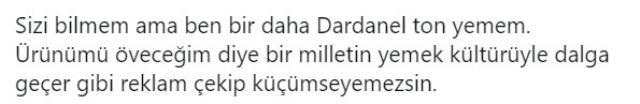 Türk mutfağını kötü gösteren Dardanel'in yeni reklam filmine tepki yağdı