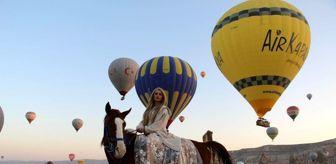 Kapadokya: Kapadokya'da balon turları iptal edildi