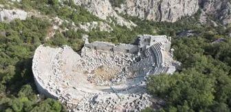 Nevzat Çevik: Büyük İskender'in alamadığı Termessos'a ziyaretçi ilgisi