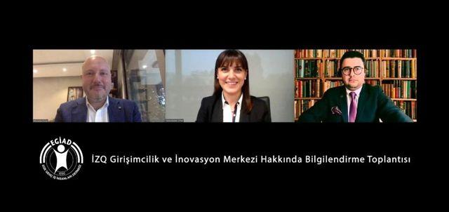 EGİAD ve İzQ iş birliği İzmir girişimcilik ekosistemini geliştirecek