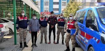 Elbistan: JASAT'ın yakaladığı kazan hırsızları tutuklandı