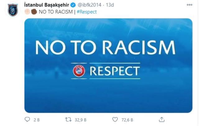 Son Dakika: Paris'te ırkçılık skandalı! Başakşehir, Şampiyonlar Ligi maçından çekildi