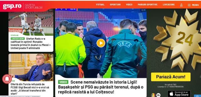 Avrupa basını Başakşehir'e yapılan ırkçılığı konuşuyor! Büyük destek geldi