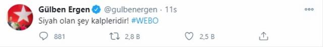 Webo'ya destek veren Gülben Ergen, yıllar önceki gafı yüzünden tepki çekti
