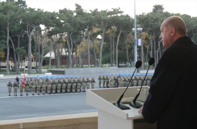 Son Dakika! Cumhurbaşkanı Erdoğan'ın Karabağ sözü törene damga vurdu: Mücadele daha bitmedi