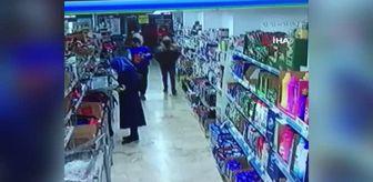 Nurtepe: Market çalışanının dehşeti yaşadığı soygun girişimi kamerada