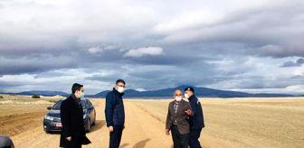 Gökçeler: 5 kilometrelik köy yoluna 300 bin TL'lik stabilize çalışması