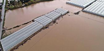 Ortabağ: - Antalya Havalimanı bölgesine metrekareye 223.2 kilogram yağış düştü