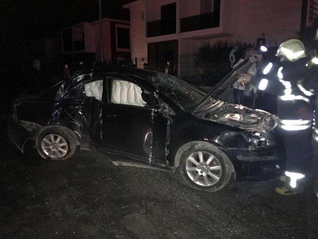 Aynı kavşak farklı kaza: 1 ağır yaralı