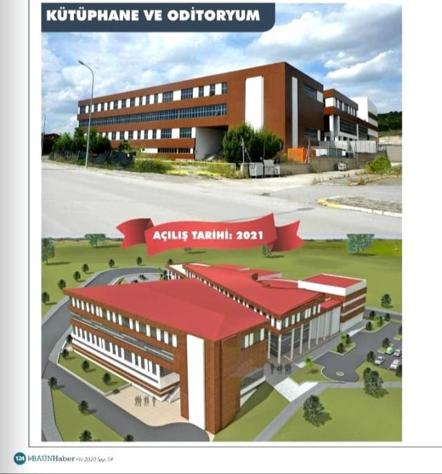 BAÜN'de yatırımlar devam ediyor