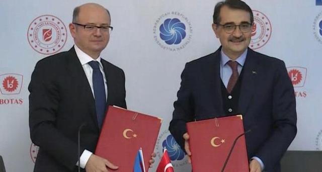 Türkiye ve Azerbaycan'dan enerji alanında dev işbirliği! Yeni doğal gaz boru hattı kuruluyor
