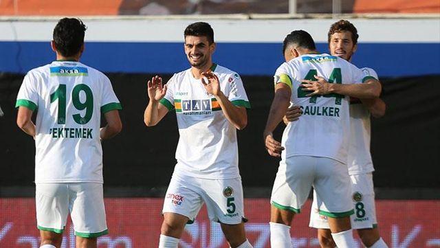 Adanaspor'u 5-1 yenen Aytemiz Alanyaspor, kupada tur atladı