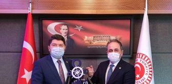 Ertuğrul Soysal: Eski Vekil Demir'den Tunç'a 'hayırlı olsun' ziyareti